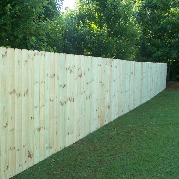 Residential - Southern Pine Privacy Fence