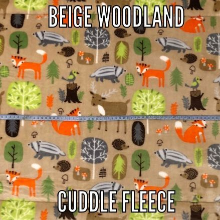 beige woodland fabric