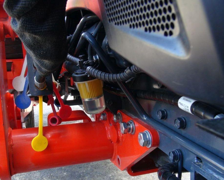 Kubota Fuel Filter Guard. Specialty Repairs Custom Mods