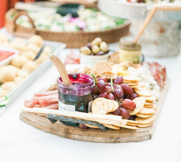 Cheeseboard and Crackers