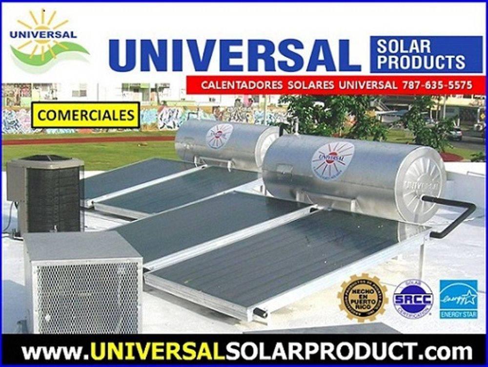 calentadores solares comerciales puerto rico
