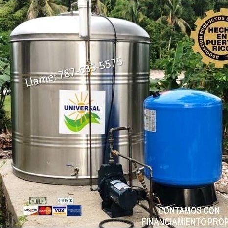 Tanque de agua instalado por Universal Solar