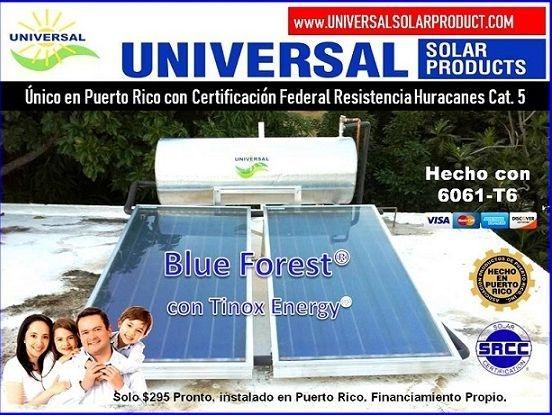 Calentador Solar para 1 a 6 personas