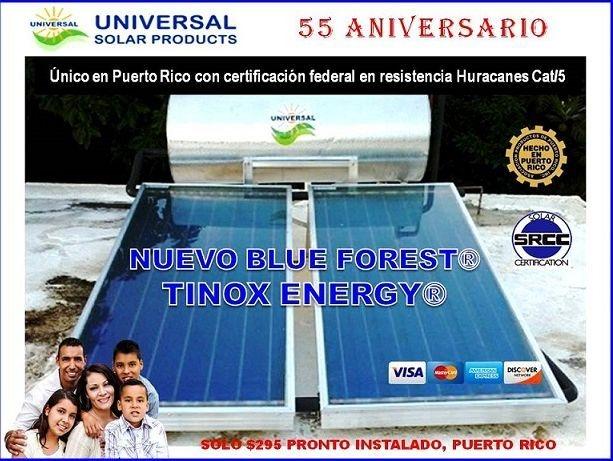 Calentadores Solares, Puerto Rico