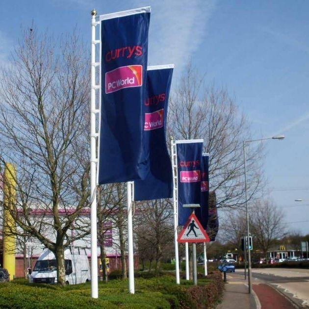 Custom made Banner Flags 100cm x 400cm