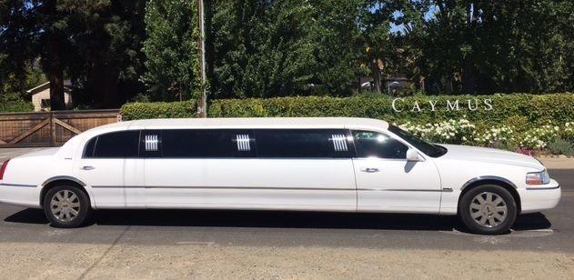 An 8 Passenger Limousine from Napa Sonoma Wine Tasting Driver.