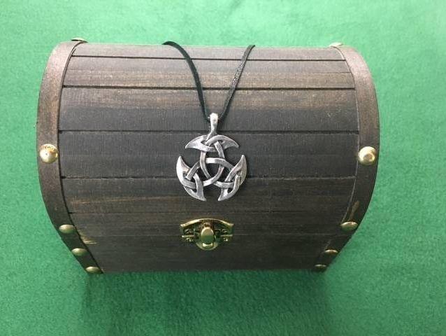Celtic Knot Pendant, Celtic, Irish, Iron Age, Shield Ravens