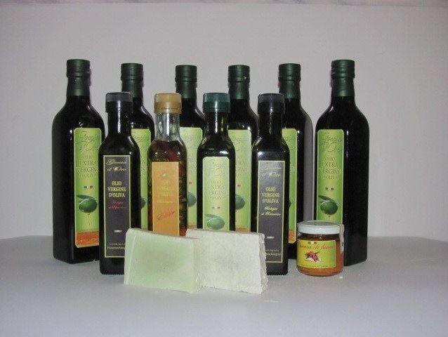 cestino d'olio d'oliva biologico, Azienda Agricola Francesco Gangemi