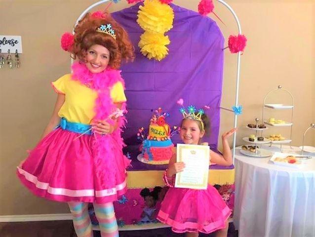Fancy Nancy Party Character by Fairytale Friends of San Antonio