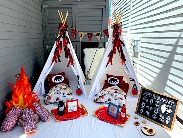Kids party rentals, teepee rentals, teepee party, teepee parties, sleepover, slumber party, kids birthday party, kids birthday parties, kids party planner, party planner, Newport Beach, Orange County, CA