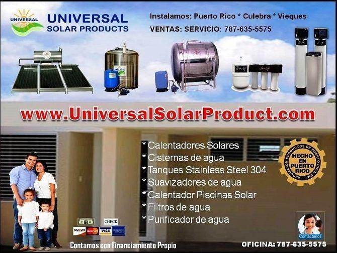 Calentadores Solares y Cisternas, ofertas