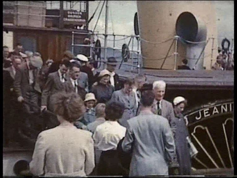 DVD video film Images image photo history Rothesay Isle of Bute Clyde steamers PS Jeanie Deans Waverley