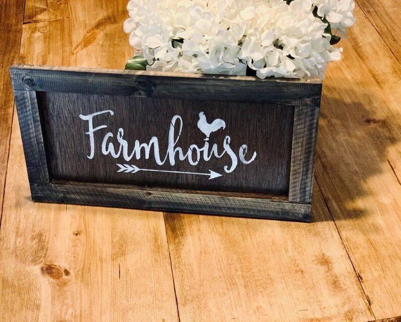 Handmade Farmhouse Sign