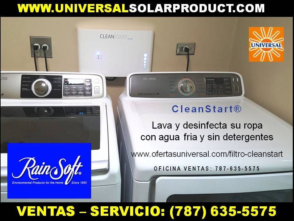 Lave la ropa sin detergente con Cleanstart
