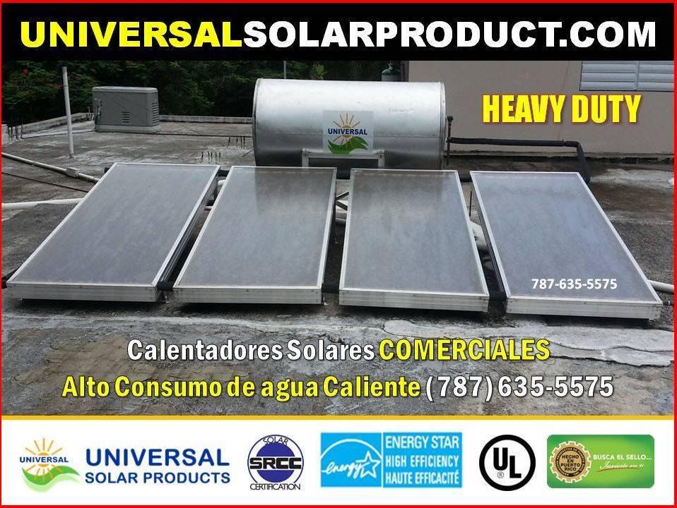 Calentador solar Heavy Duty