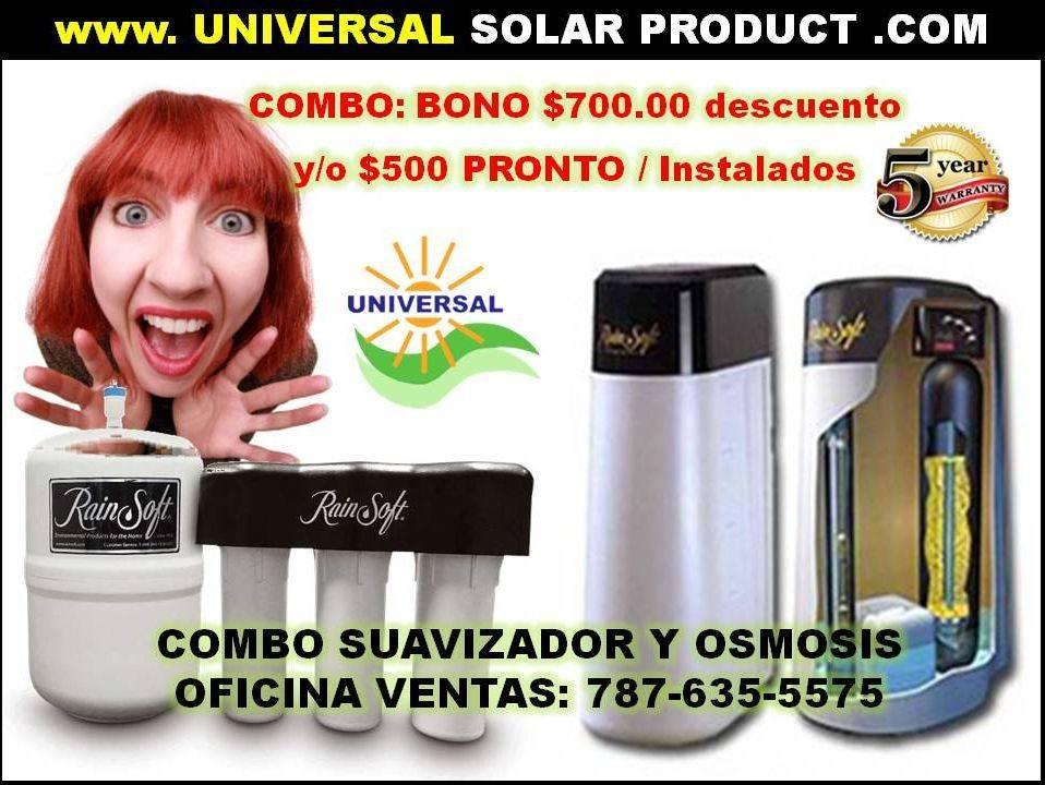 Filtros de Agua Puerto Rico $300 Bono