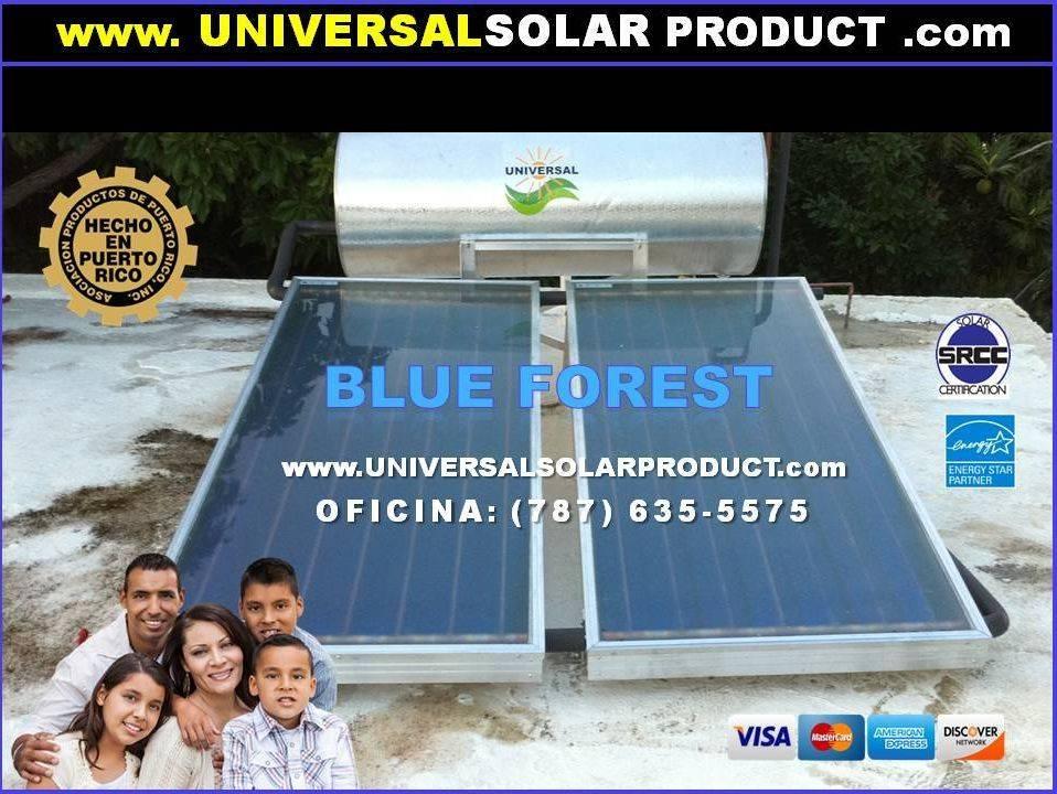Calentadores Solares Blue Forest