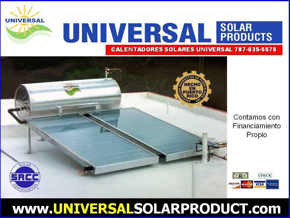 Calentador Solar Puerto Rico