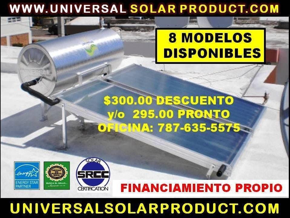Diferencia Calenador Solar Blue Forest