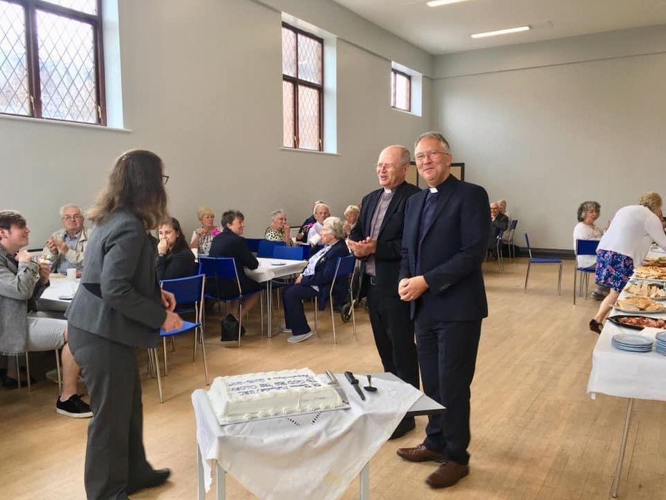 St James Woolton Liverpool hall activity