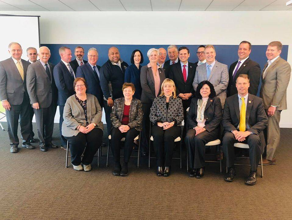 Mayor Burke and the Metro Mayors Association