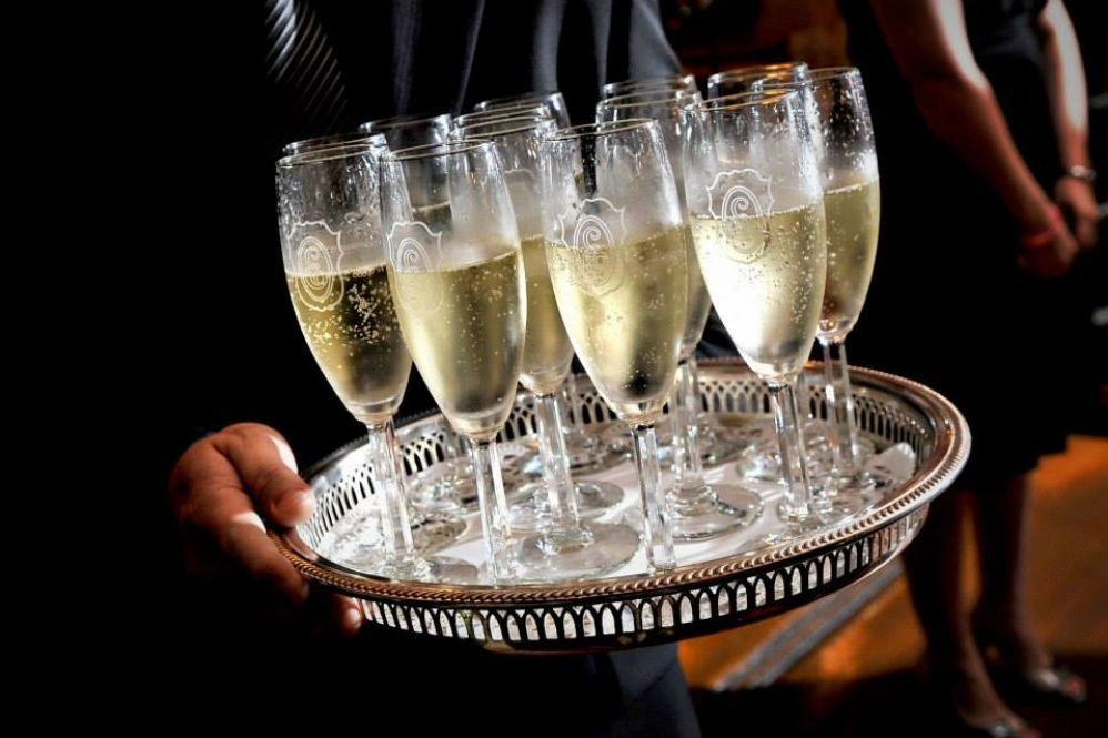 Champagne For Wedding Toasts