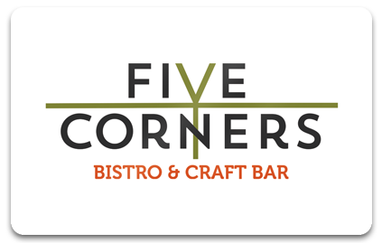 Gift Cards Five Corners Bistro & Craft Bar Farmington.