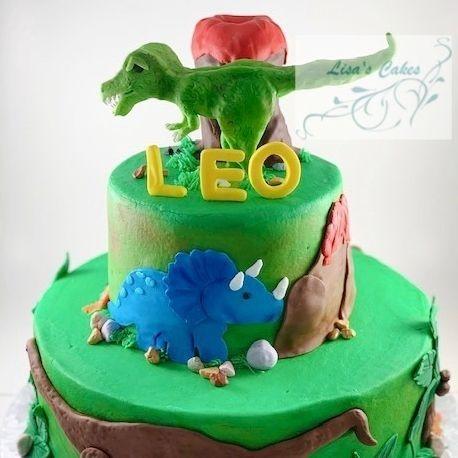 Dinosaur Birthday Cake