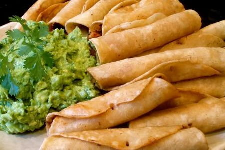 Try the taquitos by Arista