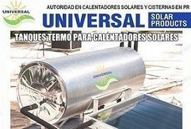 Tanque de agua para calentador solar