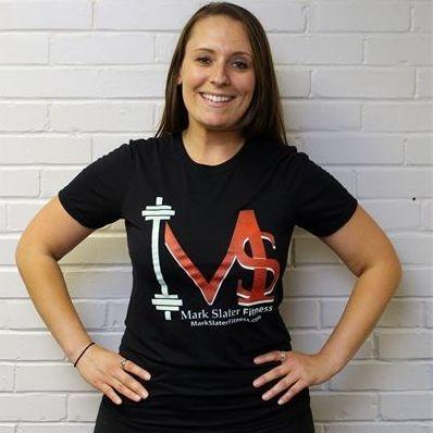 Mark Slater Fitness Black T-Shirt