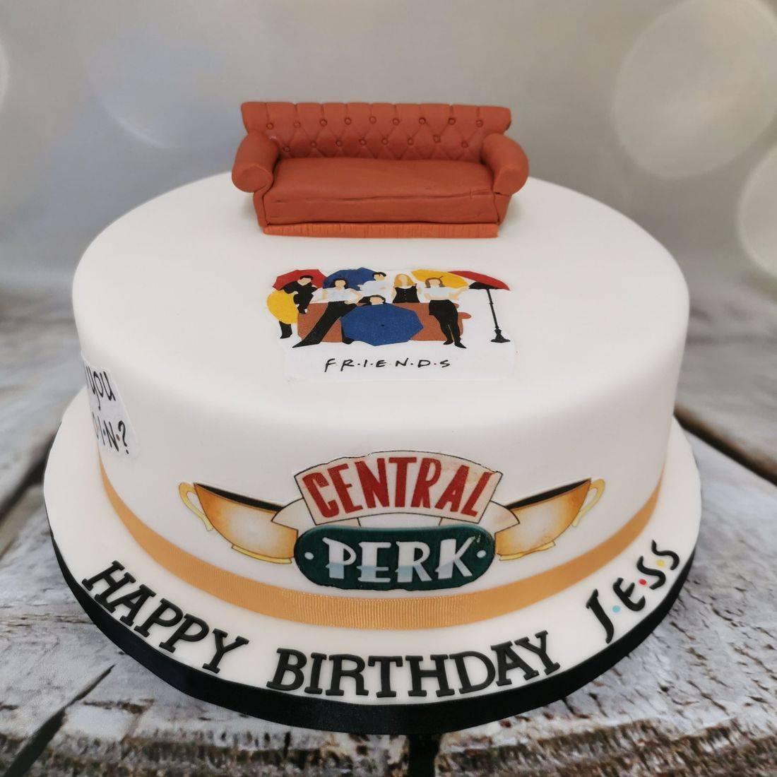Friends themed Novelty Cake