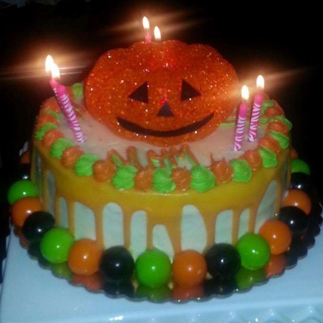 Cake, Custom, Halloween