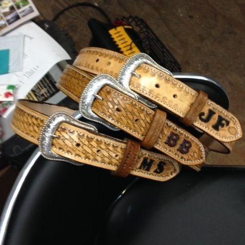 Custom Belts , tooled belts , speciality belts , tooled leather belts , heavy duty custom belts