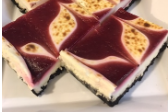 Raspberry White Chocolate Broulee Bars