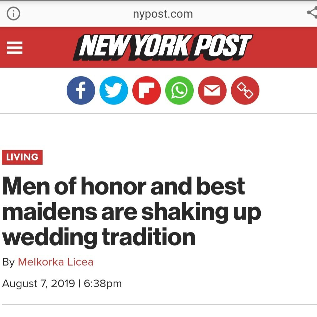 The New York Post Article on Man of Honors