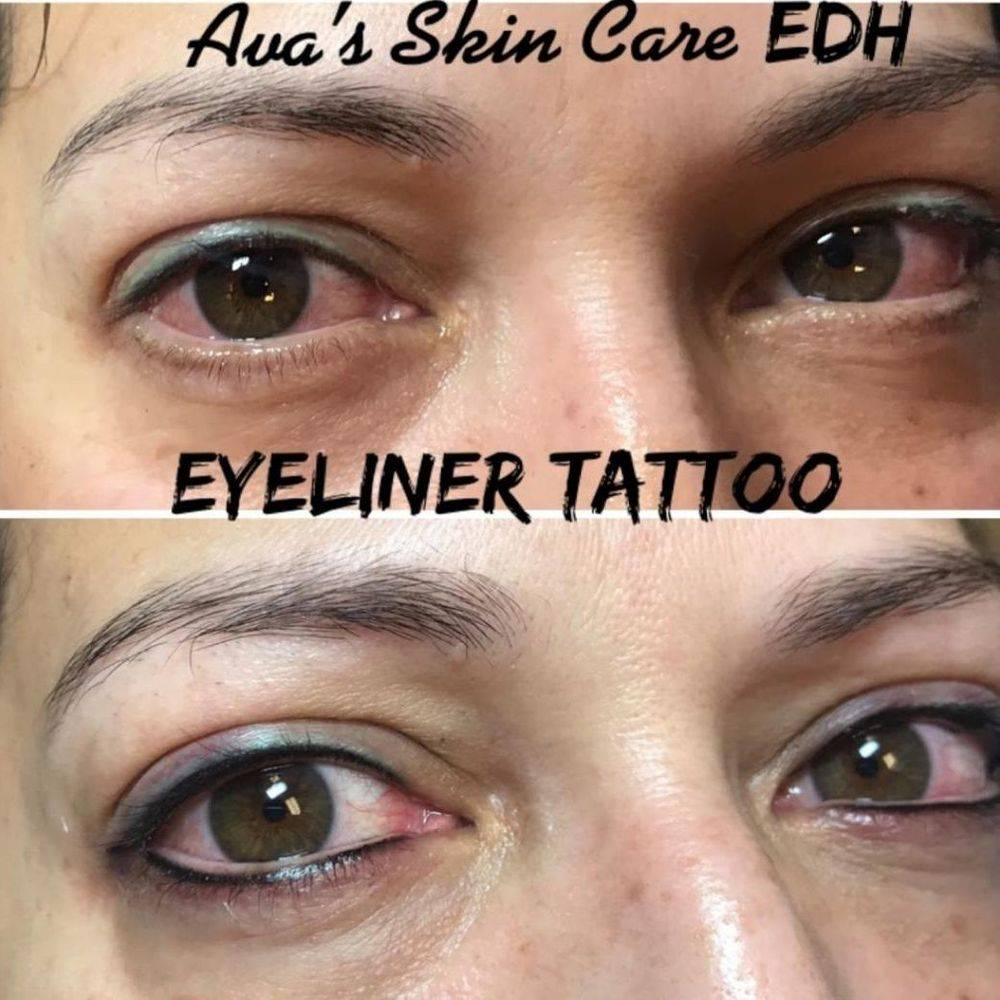 Eyeliner Tattoo By Ava