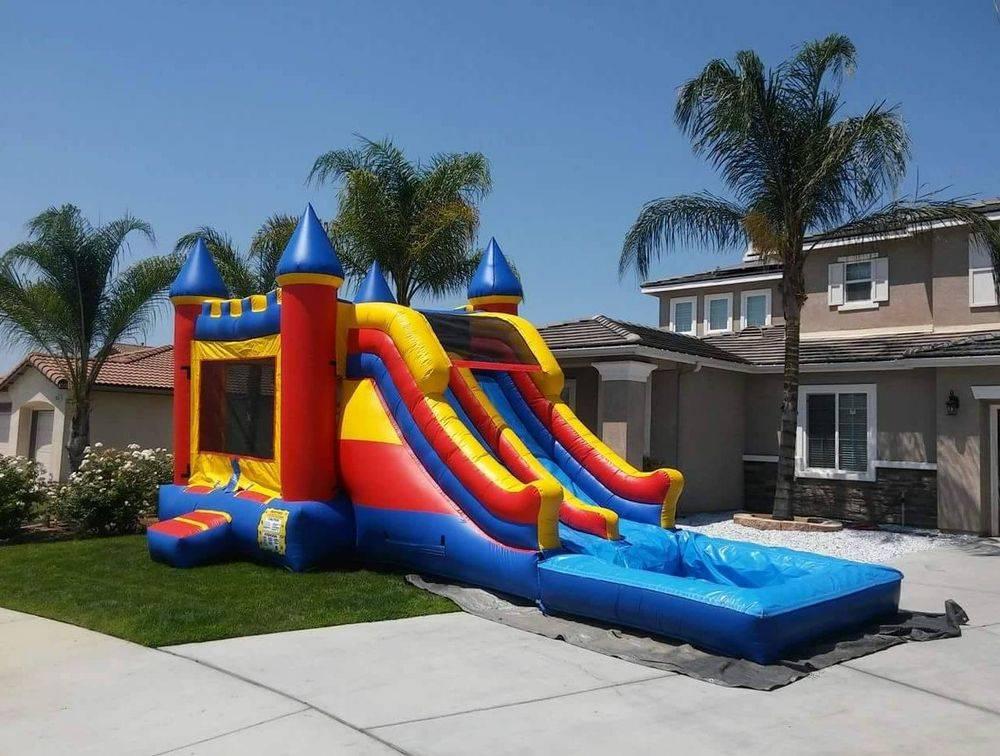 bounce house jumper rental near me Beaumont CA Paludis Jumpers Yucaipa Hemet San Jacinto Riverside Moreno Valley water slide