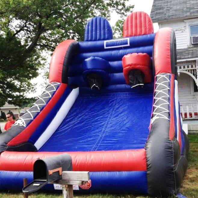 Full size inflatable basketball game for teens and adults