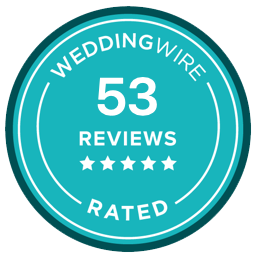 weddingwire.com reviews badge