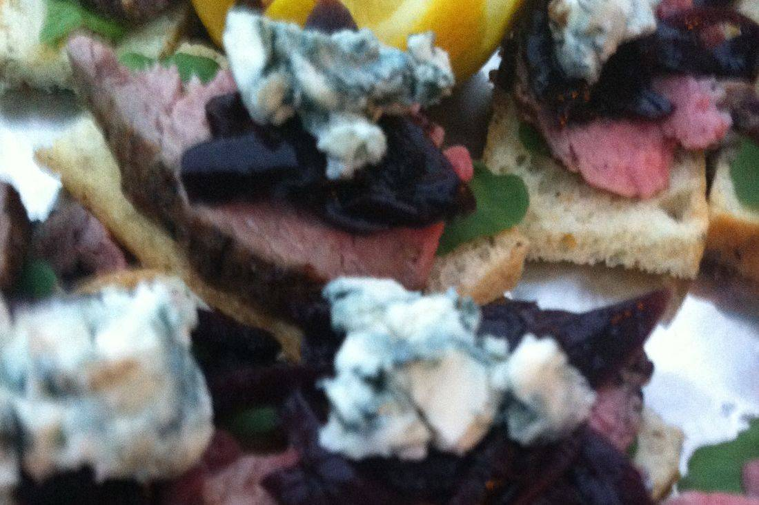Tenderloin Crostini Seattle Arista