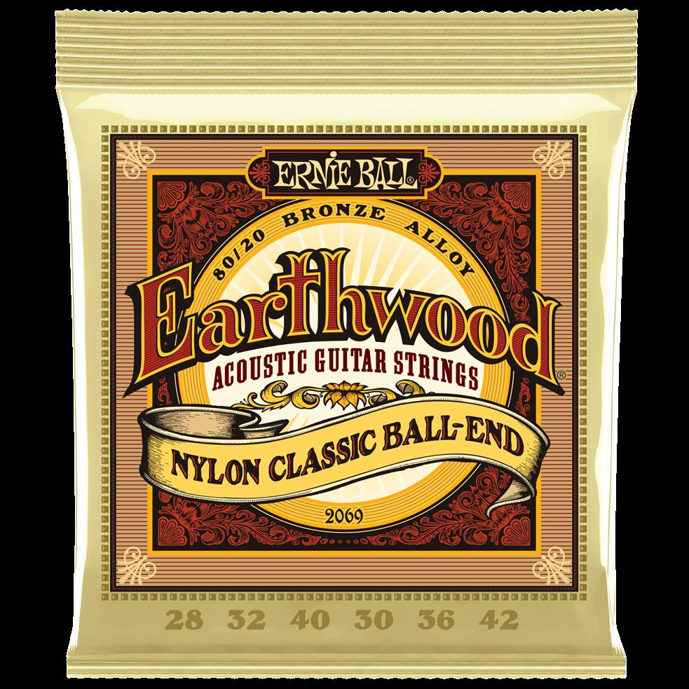 EB Earthwood 80/20 Bronze Nylon Ball-end Set 2069