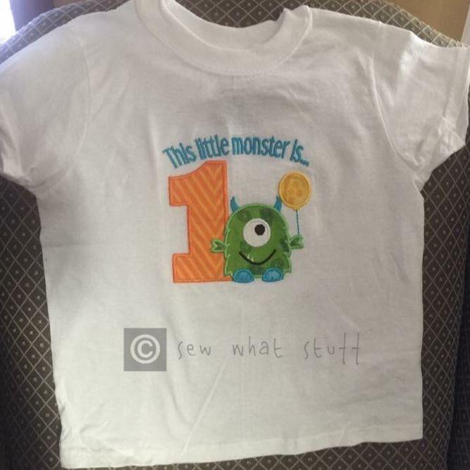 Personalized 1st Birthday Shirt