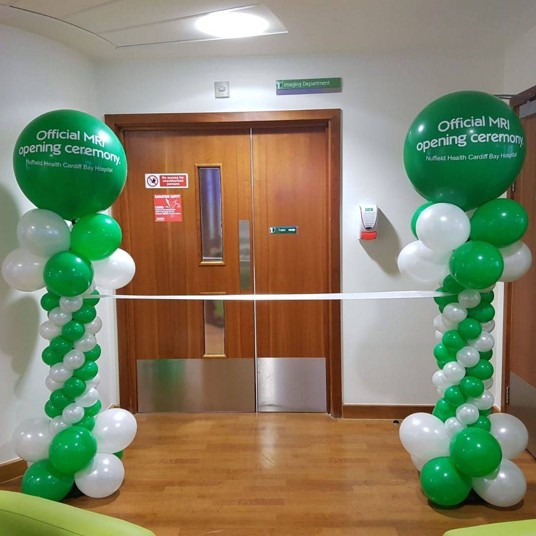 Personalised balloon  columns