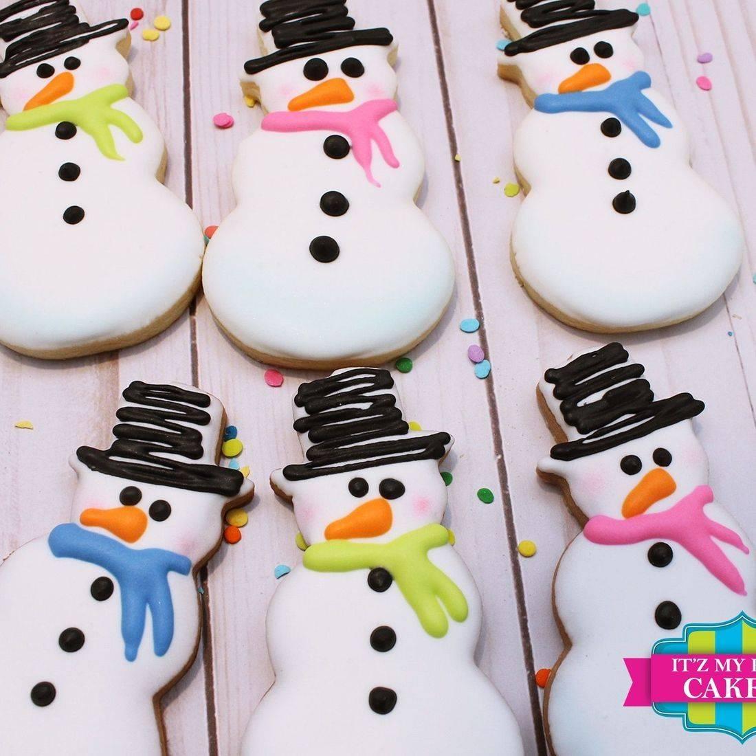 Snowman Cookies Milwaukee