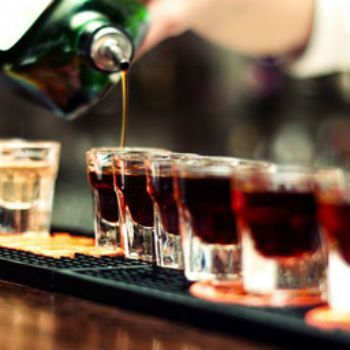 The Jager toast is a great bar catering starter