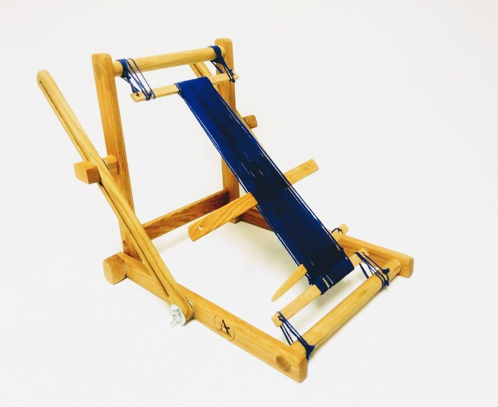 Portable folding weaving loom, frame loom, Navajo style loom