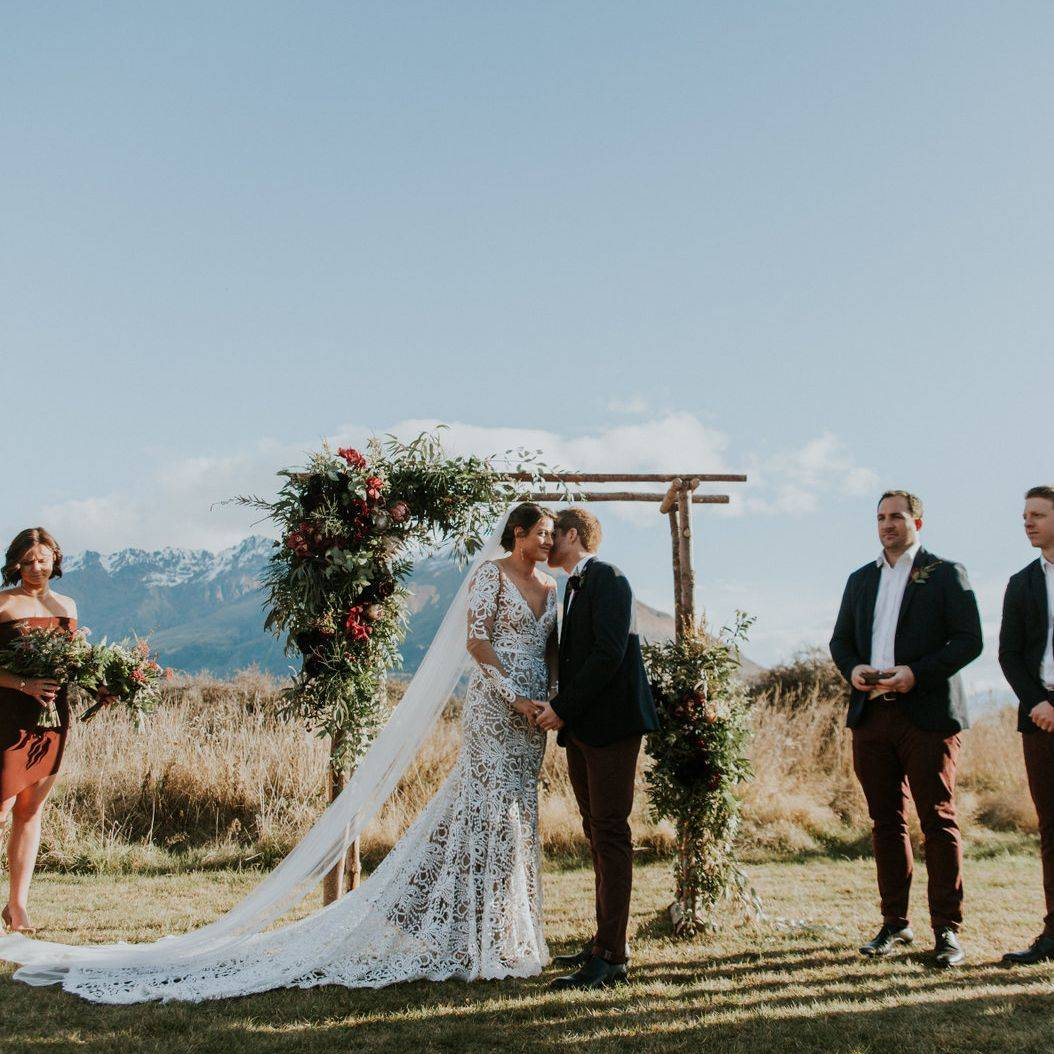 Blake and Reece's New Zealand Wedding