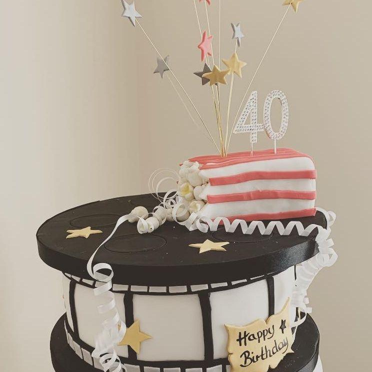 Movie Birthday cake Fabu-lous Cakes