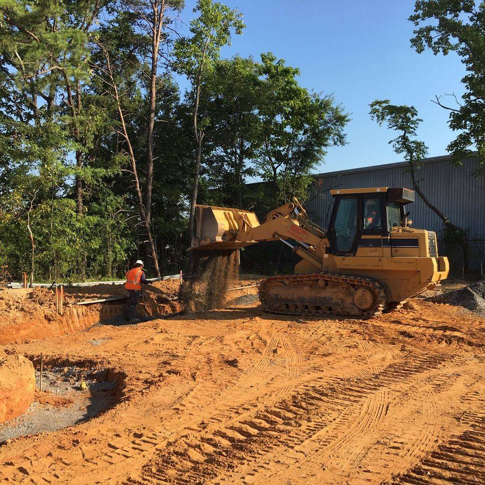 Earthwork for Steamfitters Union Training Facility